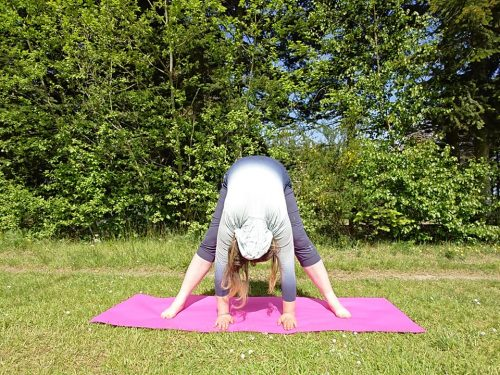 Yoga øvelse mod angst
